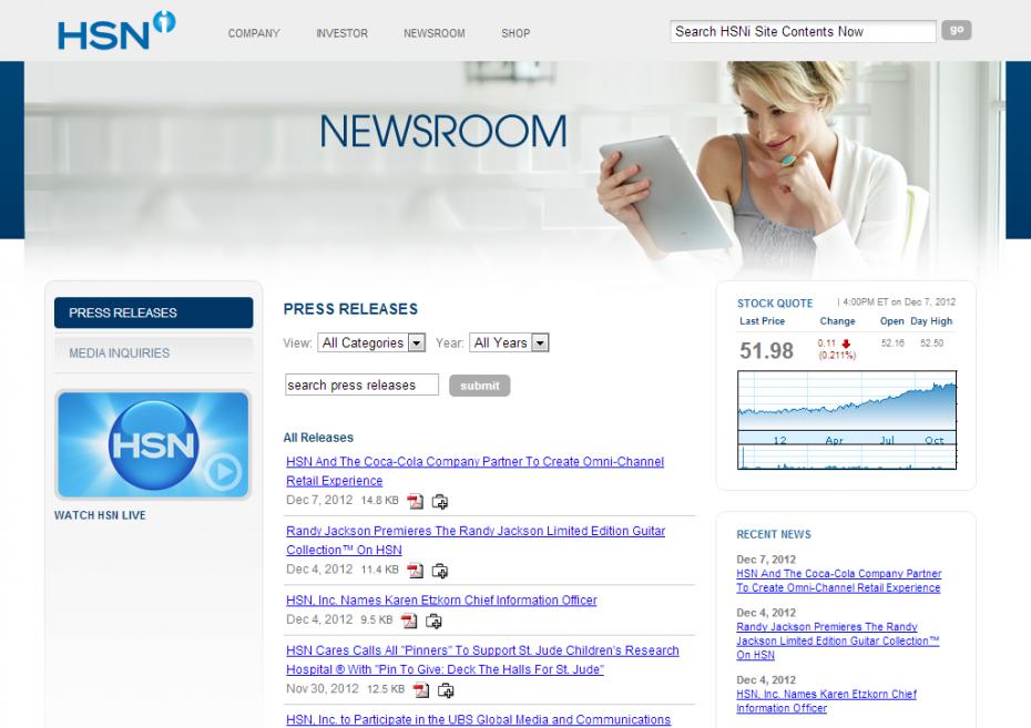 HSNi - Newsroom