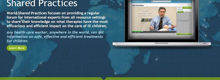 OpenPediatrics Desktop View
