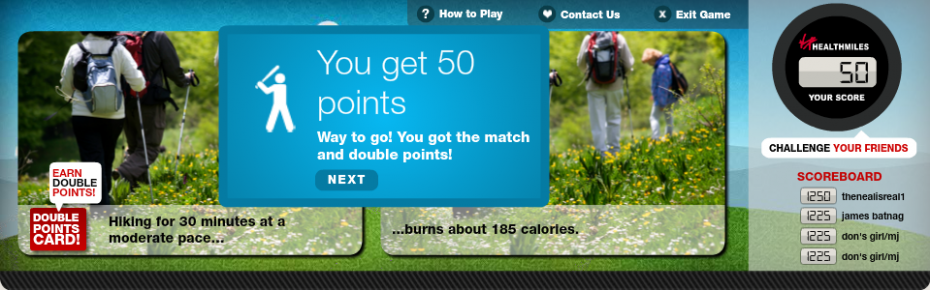 Healthmiles Match Your Move Double Score
