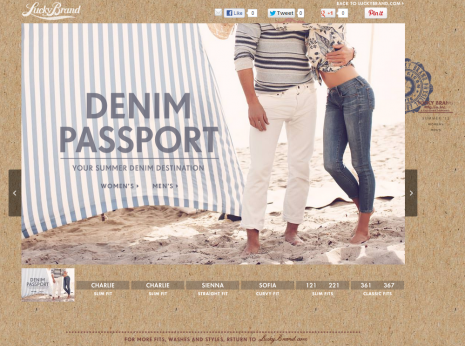 Denim Passport Homepage