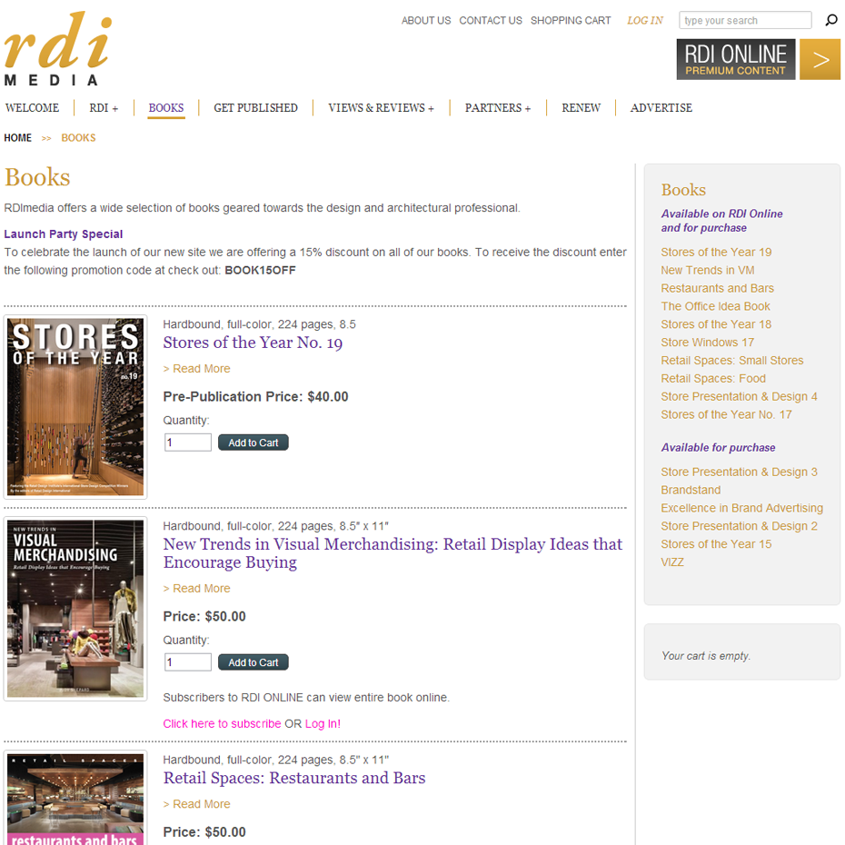 RDI Media Books