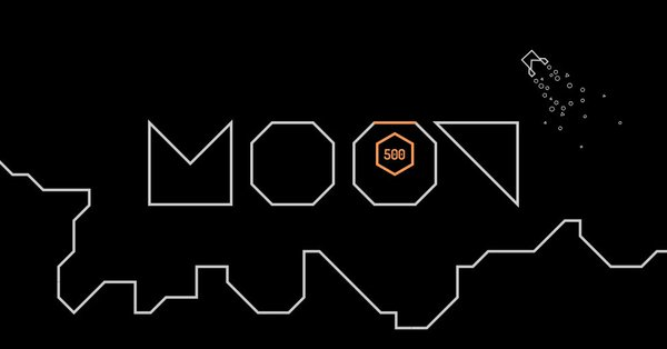 image of moon's logo and game design